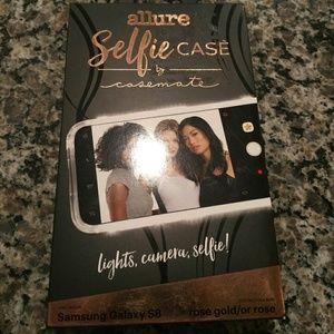 Allure Selfie Case samasung galaxy s8 rosegold